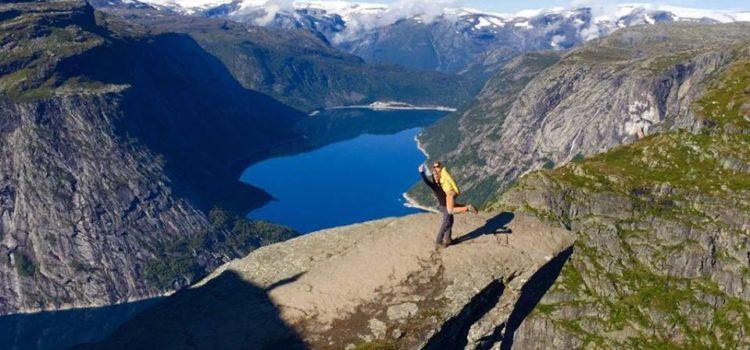Trolltunga –  Práce v Norsku